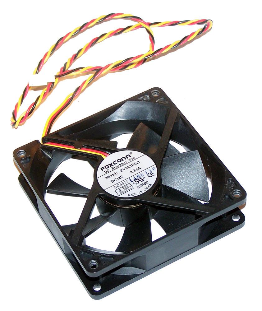 Foxconn PV983DG3 12VDC 0.34A 3-wire 92mm*25mm Fan - 2695 Connector 55cm